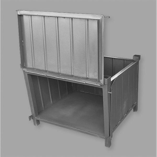 Pojemnik pełny metalowy